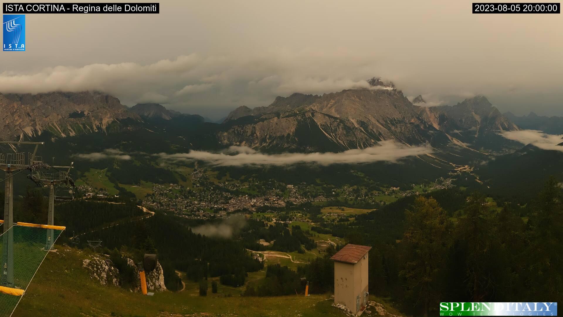 Vista su Cortina da Duca d'Aosta